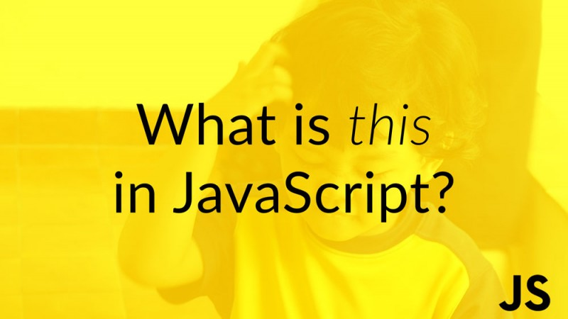 What is this in JavaScript