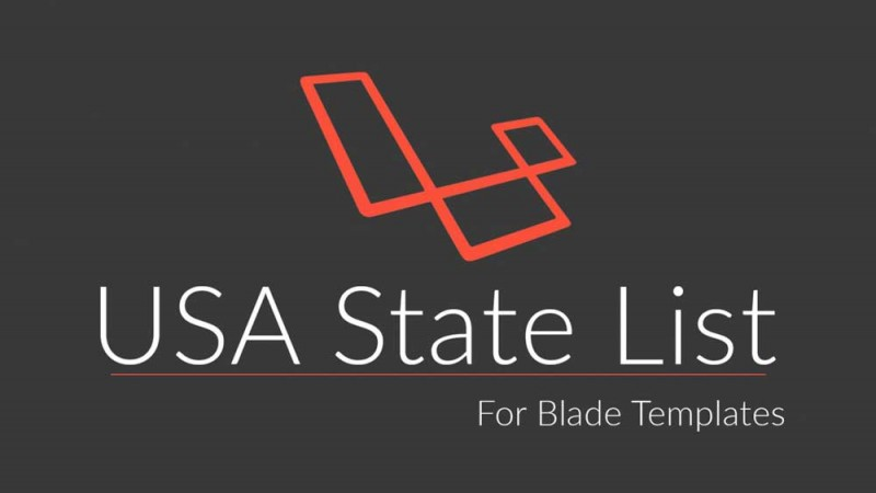USA State List for Blade Templates